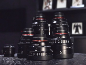 Rent: Rokinon Xeen Cinema EF Series Lens Set - 14, 24,35,50,85