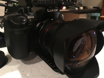 Rent: Panasonic Gh4 Camera with Metabones Adapter (EF Mount)