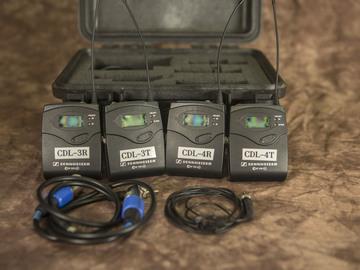Rent: Sennheiser ew 100 G3 Lavalier Microphone Kit