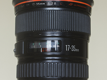 Rent: Canon 17-35mm F 2.8 L Series