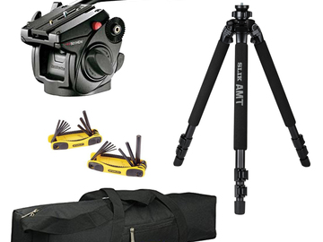 Rent: Manfrotto 501HDV Tripod Kit