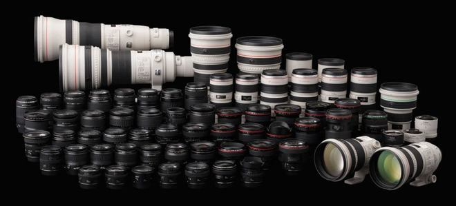 Canon Lens 4 pack