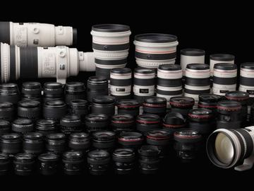 Rent: Canon Lens 4 pack