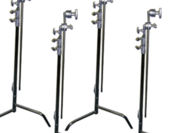 Rent: Kit of x4 c-stands