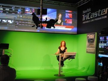 Rent: TriCaster 300 HD TV Studio for HD Portable Live Productiion