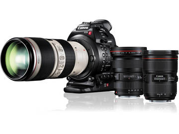 Rent: Canon C100 with choice of L lens