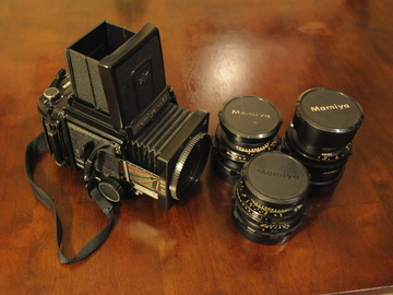 Rent: Mamiya RB67 Professional S + (3) Lenses