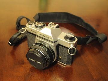 Rent: Pentax K1000 + 50mm lens