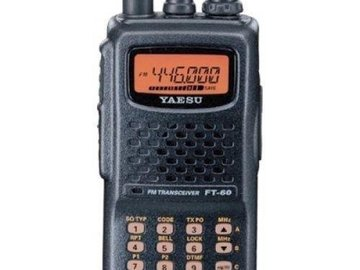 Rent: Airman's Transceiver Yaesu Dual Band  CB Radio FOR PILOTS