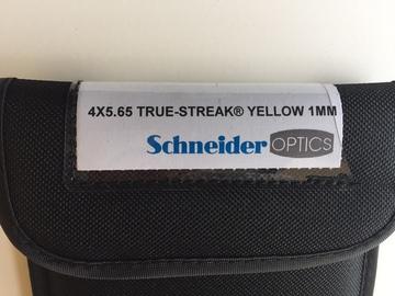 Rent: 4x5.65 Schneider Streak Filter Yellow #1MM
