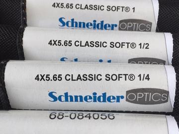 Rent: 4x5.65 Schneider Classic Soft Set (1/8,1/4,1/2,1,2)