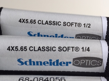 Rent: 4x5.65 Schneider Classic Soft Set of 3 filters(1/8,1/4,1/2,)