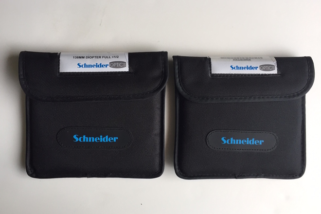 Schneider 138mm Diopters (Choose 2 filters +1/2, +1, +2, +3)