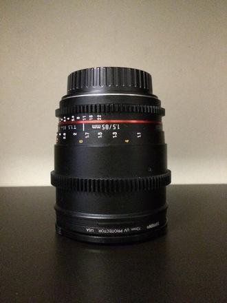 Rokinon Cine Prime Set 24,35,85mm Canon EF-s Mount