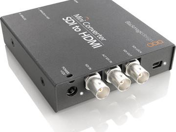 Rent: Blackmagic Mini Converter SDI to HDMI