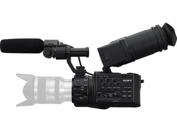 Rent: Sony NEX-FS100U Super 35mm Sensor Camcorder