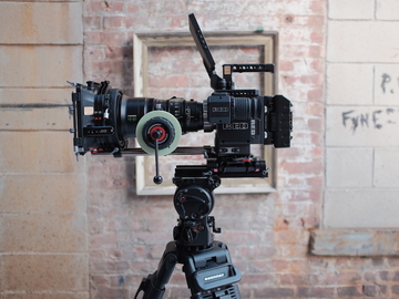 Rent: Red Weapon Helium Complete Kit with Fujinon Cabrio 19-90