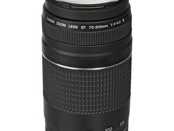 Rent: Canon EF 75-300mm f/4-5.6 III Telephoto Zoom Lens for Canon