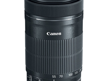 Rent: Canon EF-S 55-250mm F4-5.6 IS STM Lens for Canon SLR Cameras