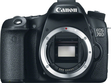 Rent: Canon Eos 70d body only