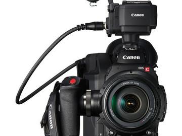 Rent: Canon C300 MKII w/CN-E Lenses Full Package