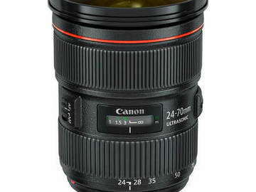 "Rent: Canon 70-00mm , 24-70mm, and 18"" 1850 panasonic monitor"