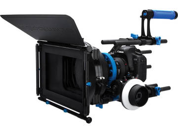 Rent: Complete Mattebox/Follow Focus Rails/Shoulder Pad/Handles