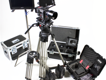 Rent: RED WEAPON COMPLETE PRODUCTION PACKAGE