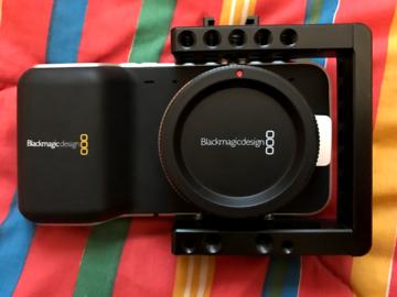 Rent: Black Magic Pocket Cinema Camera MFT