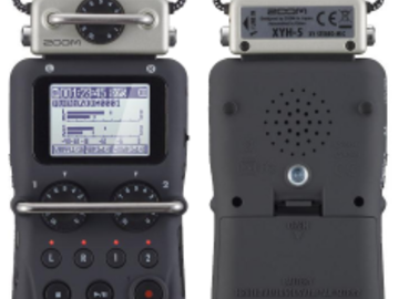 Rent: ZOOM H5 Handy Recorder