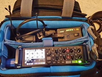 Rent: Zoom F8 /Sennheiser 416 & G3s  Audio Package