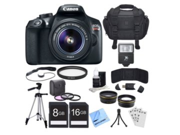 Rent: Canon EOS Rebel T6 Digital SLR Camera