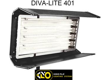 Rent: 8 Light Interview Kit - 3 x 4 bank & 2 x 2 bank - 3x 960 LED