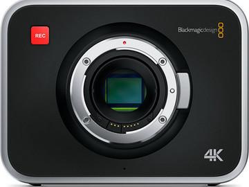 BlackMagic 4K EF mount, with 2 SDD's and basic Lenses