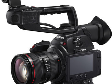 Canon C100 Mkii with Canon 24-105 lens