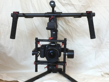 Rent: DJI Ronin MX Gimbal Supporting up to 10 LBs, Complete Kit