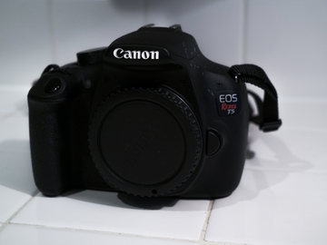 Rent: Canon Rebel EOS  t5 (BODY ONLY)