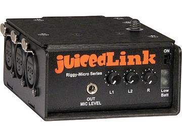 Rent: juicedLink RM333 Riggy Micro Low-Noise Preamp
