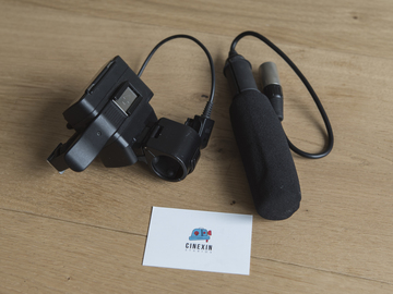 Rent: Sony XLR-K1M Adapter and Microphone