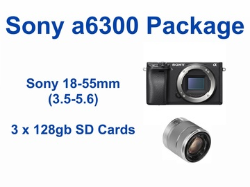 Rent: Sony a6300 Alpha Package