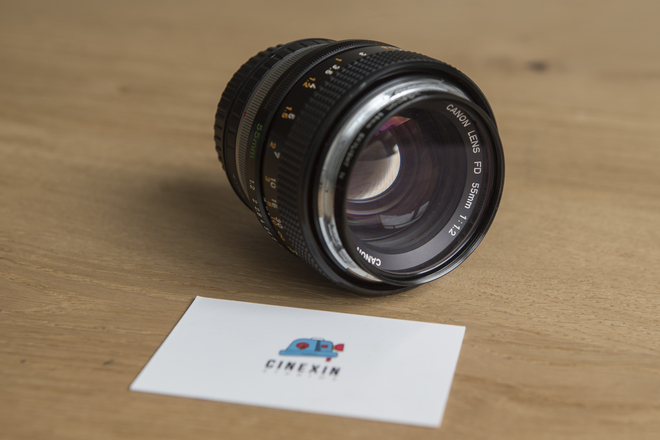 Canon FD 55mm F 1 2 with Canon Eos Adapter  | ShareGrid New York