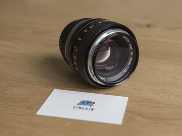 Rent: Canon FD 55mm F 1.2 with Canon Eos Adapter.