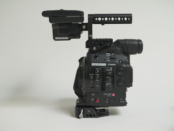 Rent: Canon C300 MKII - EF with Batteries and Cards