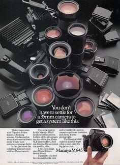 Mamiya 645 Lens Kit with Adapater