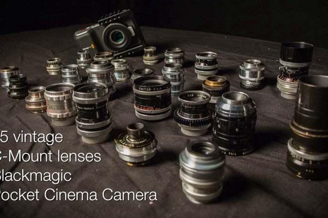 Kern Pallard 16mm Lens Kit with Anamorphic 2x Lens