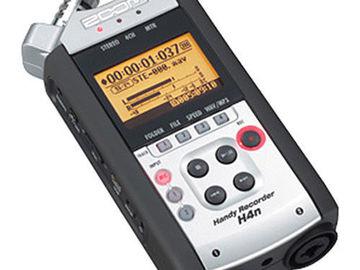Rent: Zoom H4nSP 4-channel digital recorder
