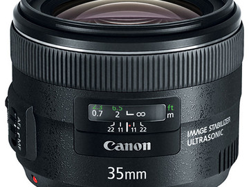 Rent: Canon EF 35mm f/2 IS USM Lens