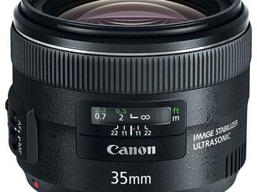 Canon EF 35mm f/2 IS USM Lens