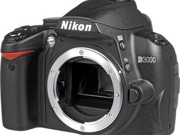 Rent: Nikon 3000