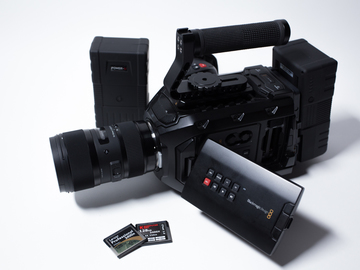 Rent: Black Magic URSA Mini 4K EF Package with Sigma ART 18-35mm